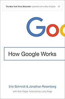Cover of book How Google Works