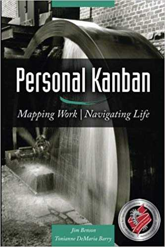 Cover of book Personal Kanban: Mapping Work | Navigating Life