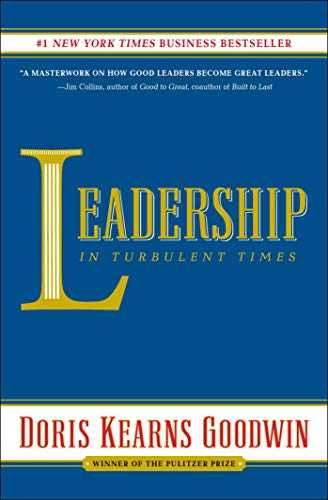 Cover of book Leadership: In Turbulent Times