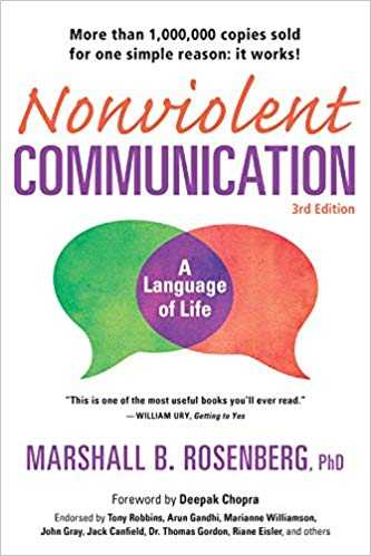 Cover of book Nonviolent Communication: A Language of Life