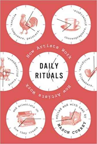 Cover of book Daily Rituals: How Artists Work