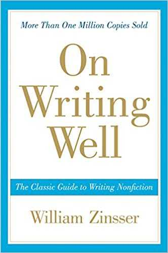 Cover of book On Writing Well: The Classic Guide to Writing Nonfiction