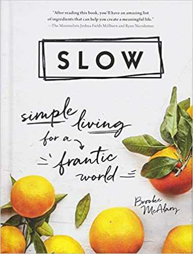 Cover of book Slow: Simple Living for a Frantic World