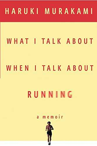 Cover of book What I Talk About When I Talk About Running