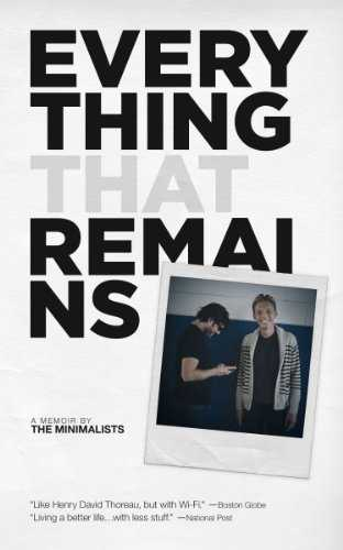 Cover of book Everything That Remains: A Memoir by The Minimalists
