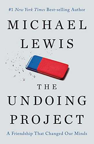 Cover of book The Undoing Project: A Friendship That Changed Our Minds (Signed Edition)